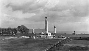 The Plymouth Naval War Memorial on Plymouth Hoe