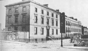 The Devon & Cornwall Female Orphan Asylum in Lockyer Street, Plymouth