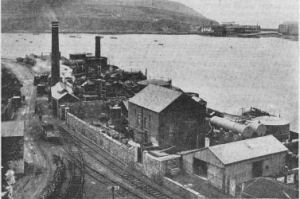 The Plymouth Tar Distilleries as it looked in 1927.